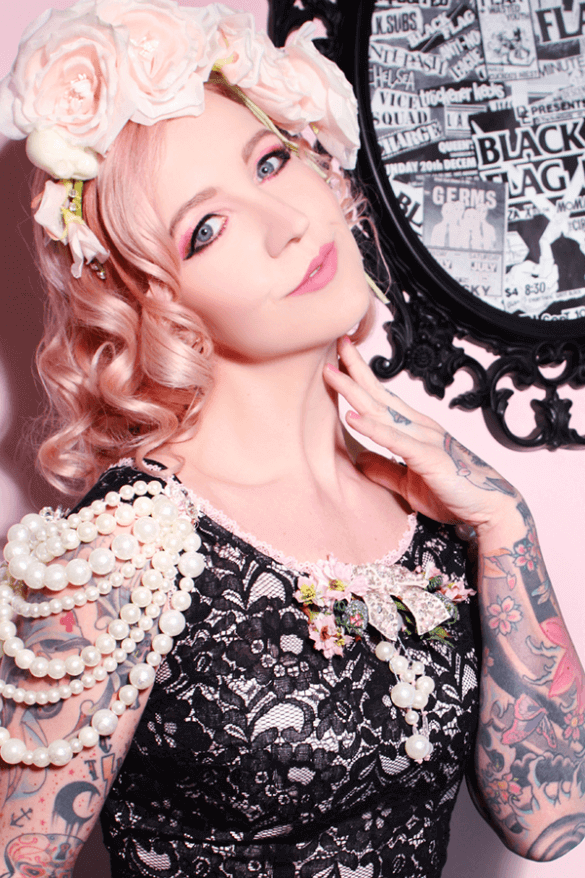 jessica louise modeled by miss ivy